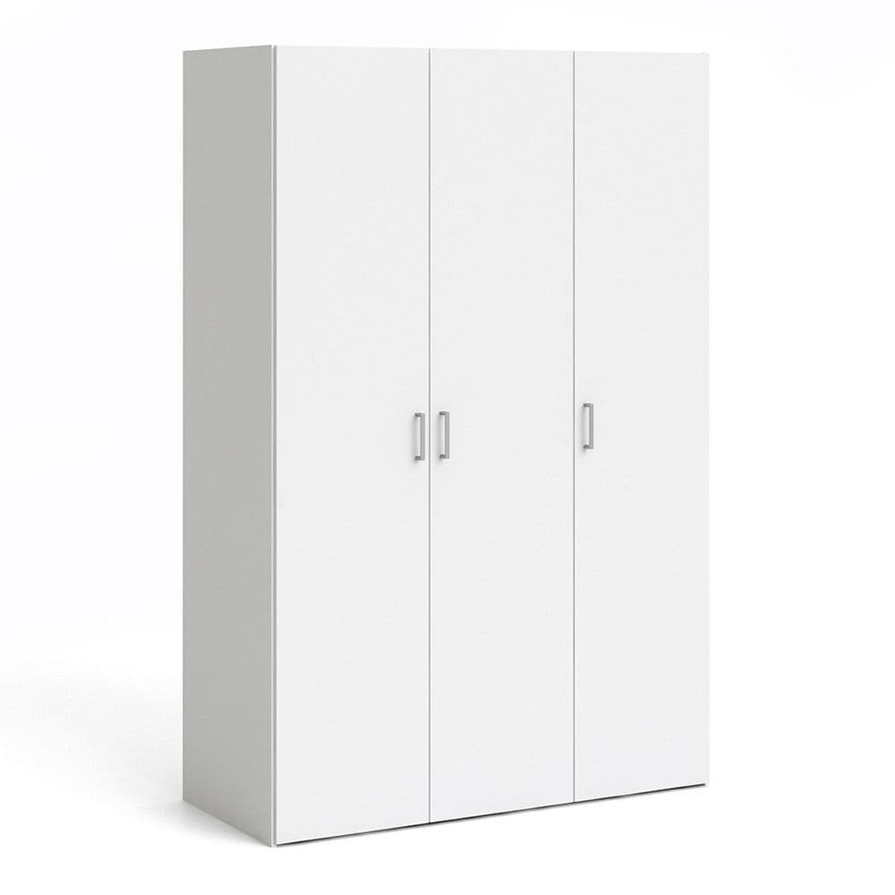 Space Wardrobe with 3 doors (175)White in White